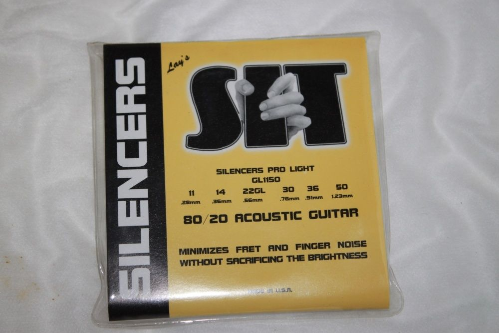 SIT Guitar Strings Acoustic Silencers 80/20 Bronze 11-50