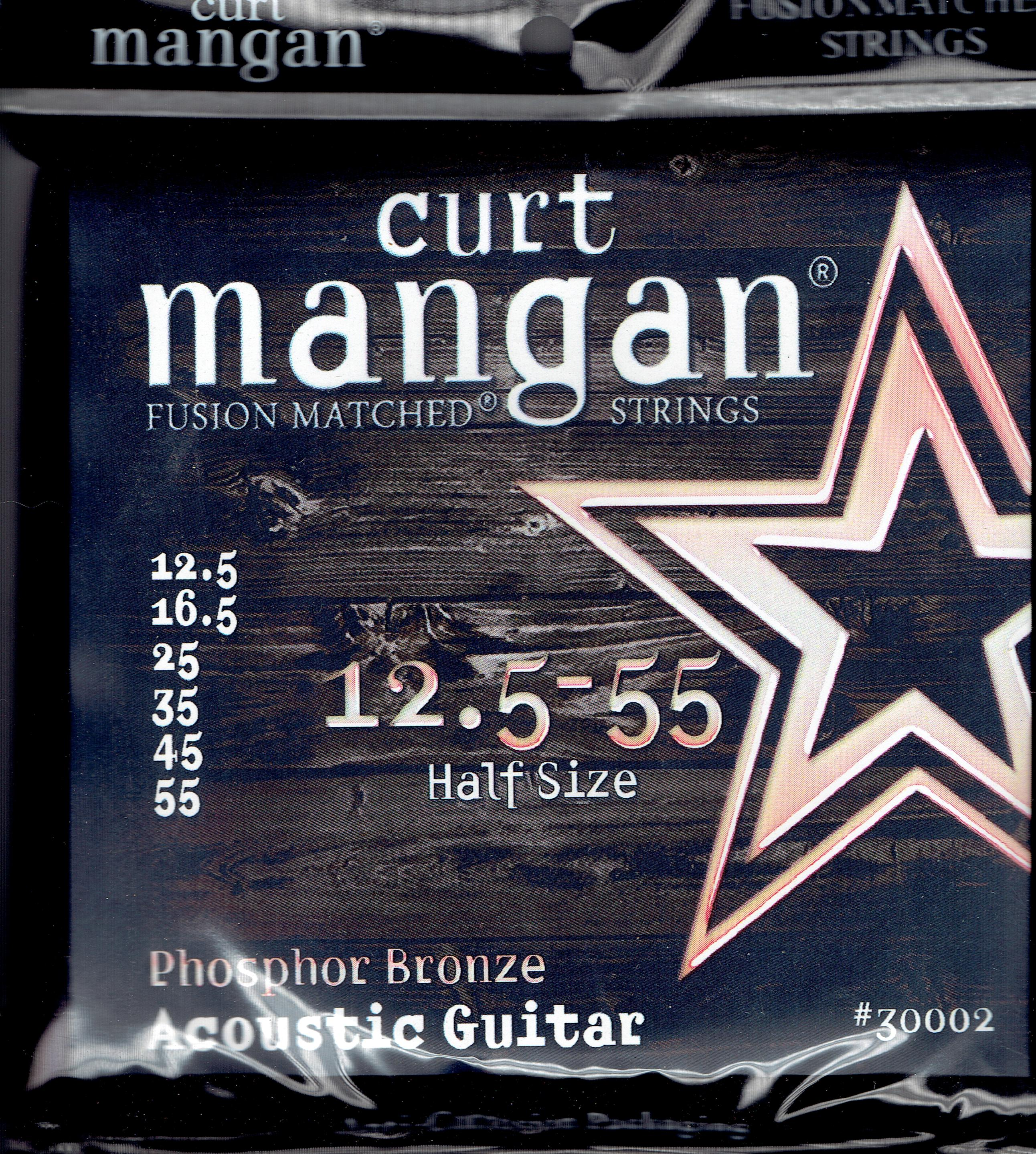 Curt Mangan acoustic strings phosphor bronze 12.5-55