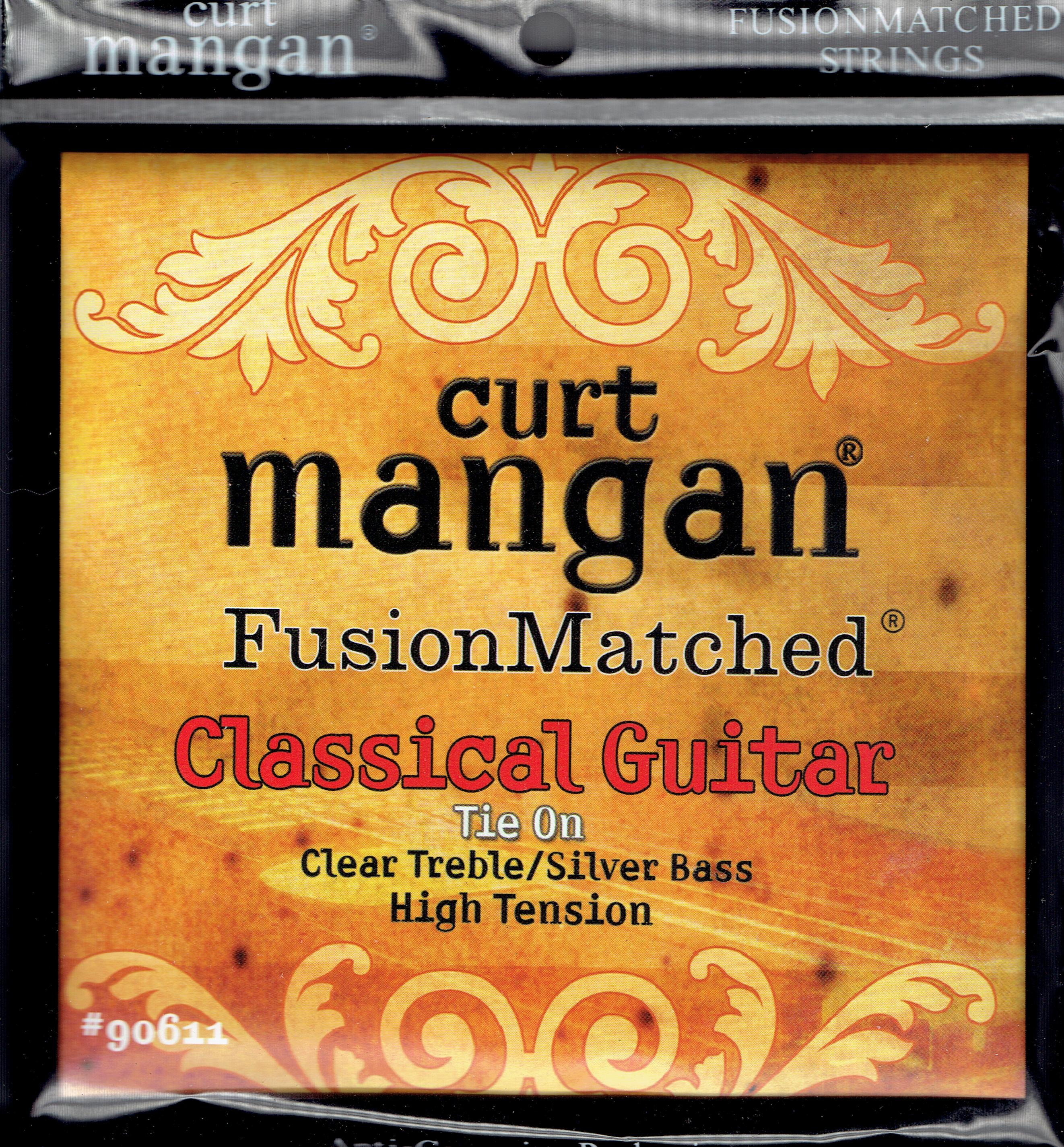 Curt Mangan Classical guitar strings high tension tie on
