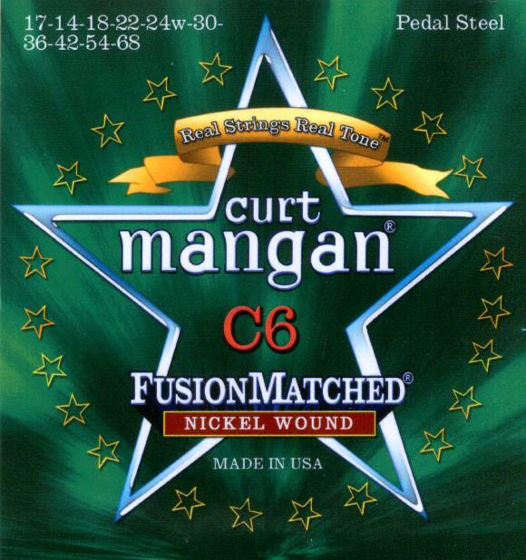 C6 Curt Mangan pedal steel nickel wound guitar strings