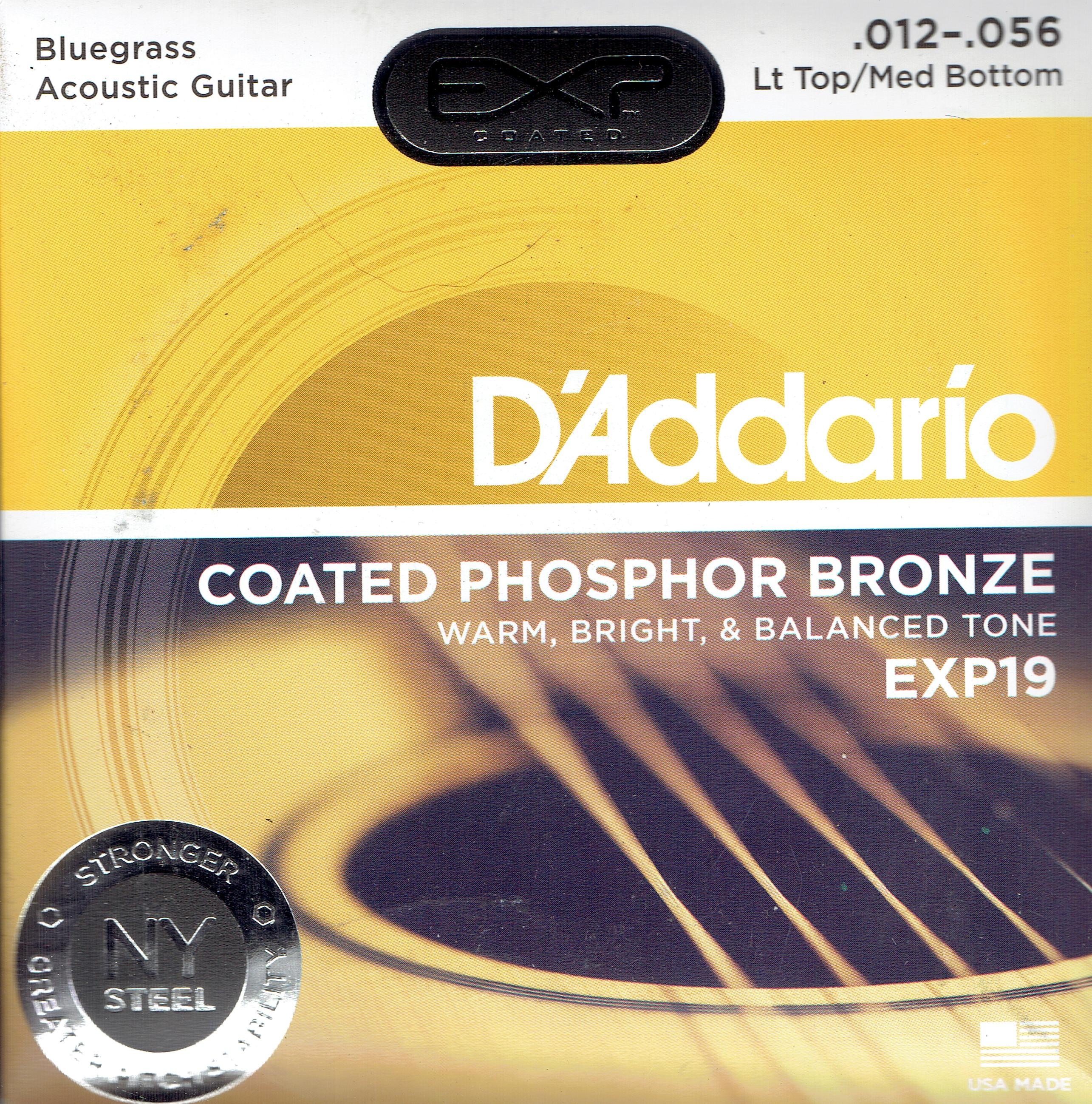 D'Addario phosphor coated