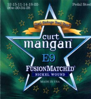 Curt Mangan Pedal Steel Strings