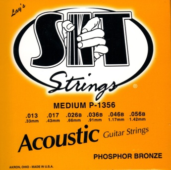 SIT Guitar Strings Phosphor Bronze P1356 13-56