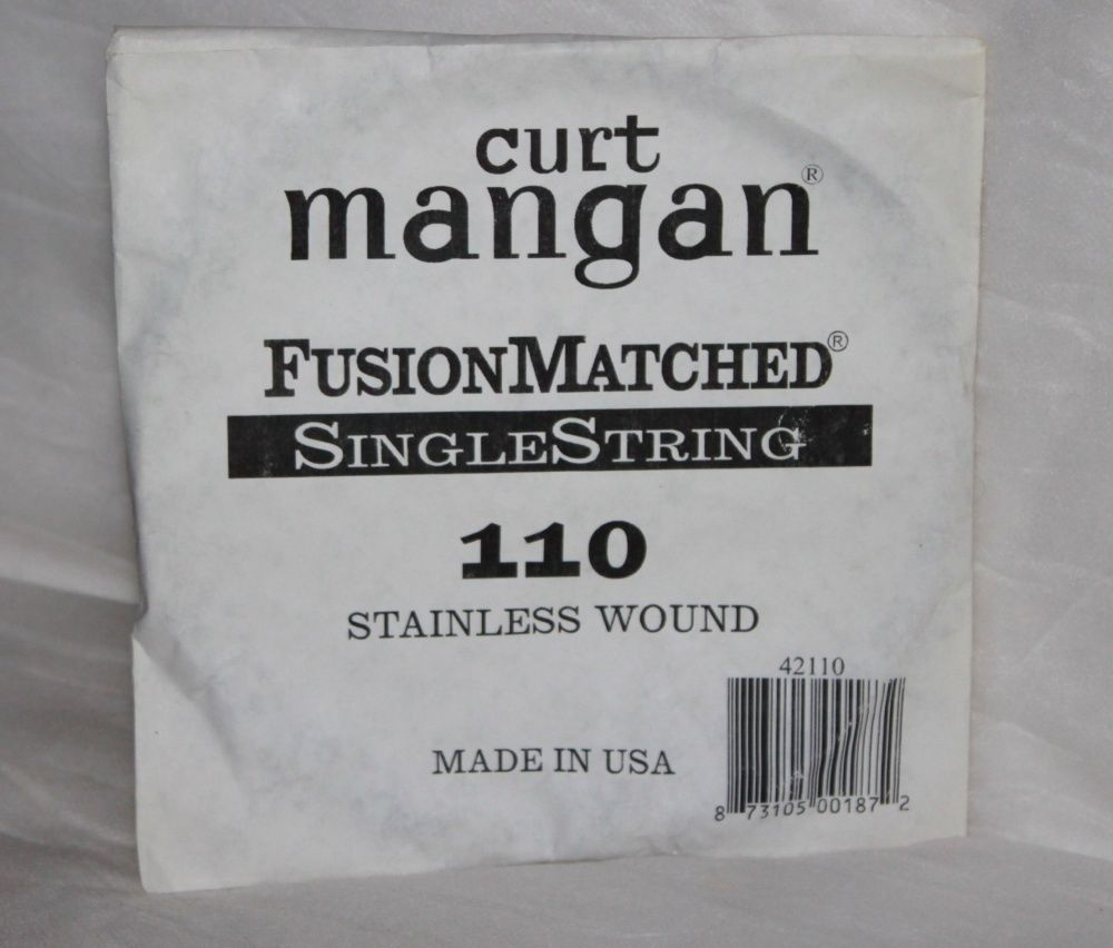 110 Curt Mangan bass single string stainless