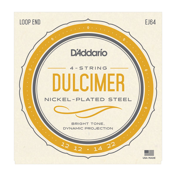 D'Addario Dulcimer strings nickel plated 12-22 EJ64