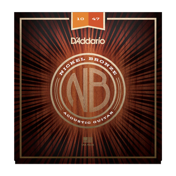 D'Addario acoustic guitar strings 10-47 NB1047