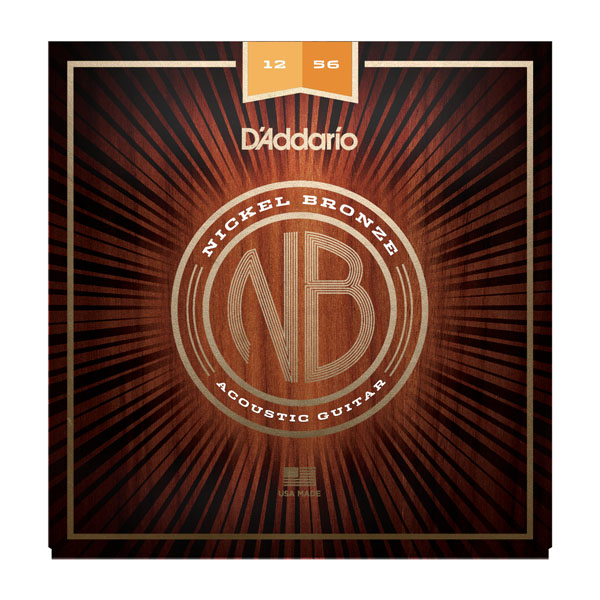 D'Addario Nickel bronze strings