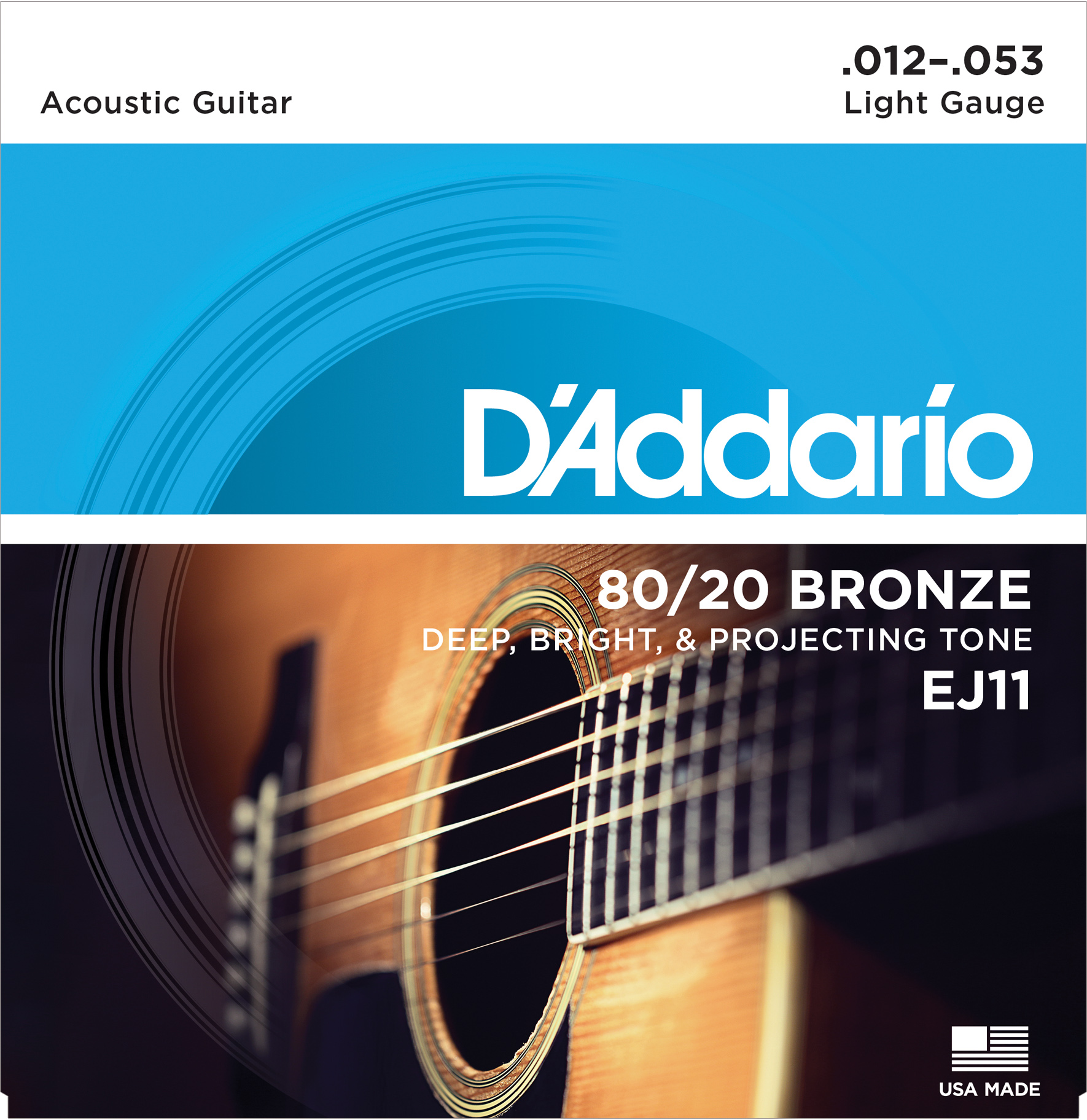 D'Addario 80/20 Bronze Strings