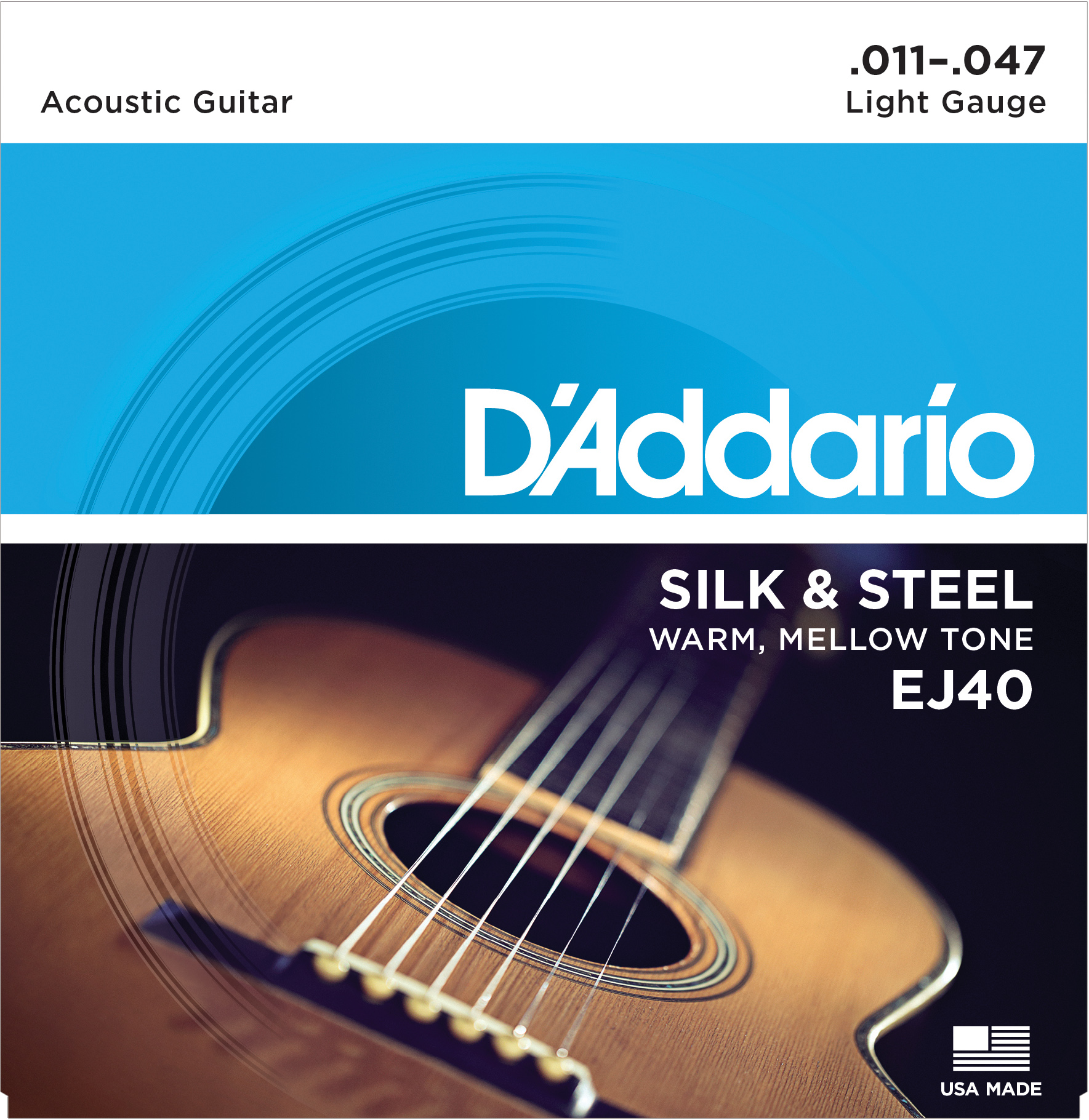 D'Addario folk strings