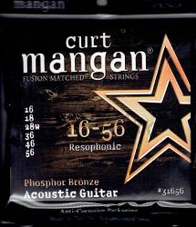 Curt Mangan resophonic 16-56 phosphor bronze strings