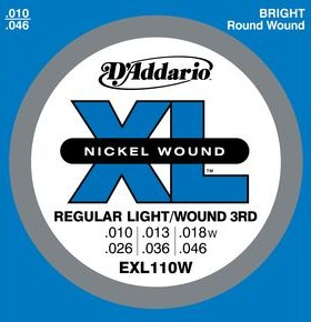 D'Addario Nickel Guitar Strings