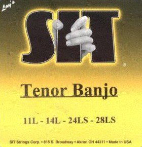 SIT Banjo Strings Tenor TB41128 4 string 11-28