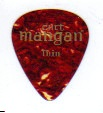 Curt Mangan Thin Celluloid Shell Guitar Picks