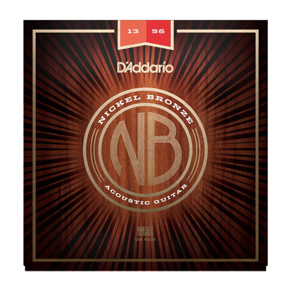 D'Addario acoustic guitar strings 13-56 NB1356