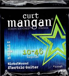 Curt Mangan 10-46 nickel wound electric guitar strings