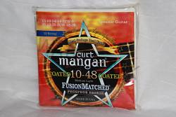 Curt Mangan coated 12 string set 10-48