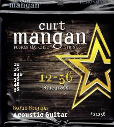 Curt Mangan 80/20 Bronze 12-56 Bluegrass Guitar Strings