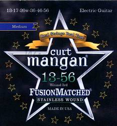 Curt Mangan stainless wound guitar strings 13-56