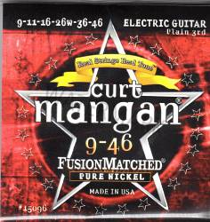 Curt Mangan pure nickel guitar strings 9-46