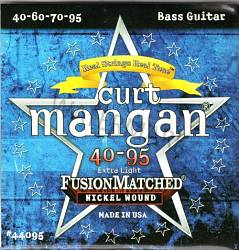 Curt Mangan nickel extra light bass guitar strings 40-95