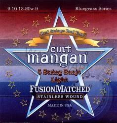 Curt Mangan Banjo Strings Light 5-String  Loopend 9-20