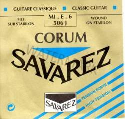 506J HT Savarez classical guitar strings. single E string Corum