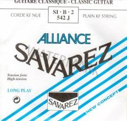 542J Savarez classical guitar strings. single B string Alliance