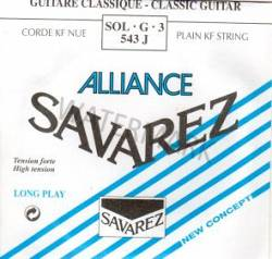 543J Savarez classical guitar strings. single G string Alliance