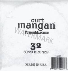 32 Curt Mangan single 80/20 bronze string