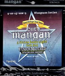 Curt Mangan 9-20 Banjo Strings Light 5-String bluegrass Ball End