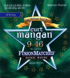 Curt Mangan electric 12 string guitar strings nickel wound 9-46
