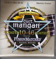 Curt Mangan coated nickel guitar strings 10-46