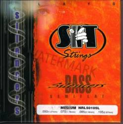 SIT Bass Guitar Strings Silencers NRL50105L 50-105