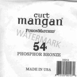 54 Curt Mangan phosphor bronze single string