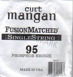 95 Curt Mangan single string bass phosphor bronze