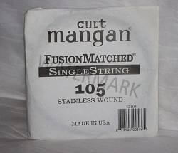 105 Curt Mangan single bass string stainless