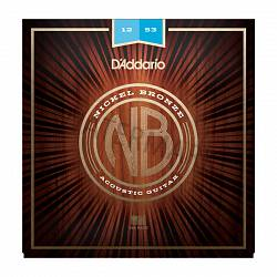 D'Addario acoustic guitar strings 12-53 NB1253